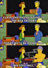 Factory Memes - the simpsons meme instead of box factory on bingememe