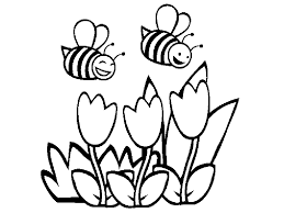 bee coloring pages coloring bee honey coloring ideas gallery 19471