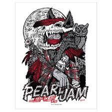 pearl jam 2014 tulsa ok concert poster u2013 ames bros