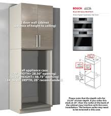 Kitchen Appliance Cabinet Kitchen Appliance Case Wall Cabinets