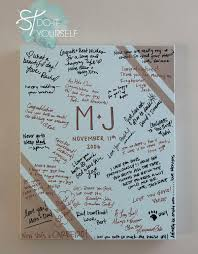 50th anniversary guest book personalized 60 best diy guest book ideas images on wedding guest