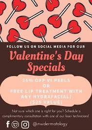 valentines specials s day specials for social media followers welcome to