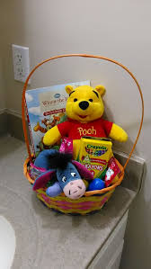 winnie the pooh easter basket winnie the pooh and eeyore easter basket custom made and ready to go