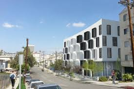 very hip looking multi family complex coming to sleepy pico union