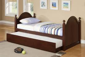 bedroom simple and nice twin bedroom decoration using dark brown