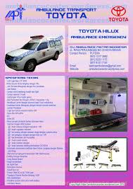ambulance toyota hilux ambulance center 081212173882