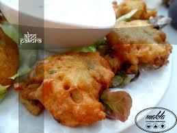 la cuisine pakistanaise aloo pakora beignets de pomme de terre et oignon pakistanais