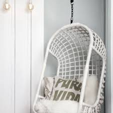 dining room top of white rattan hanging chair wicker egg ikea