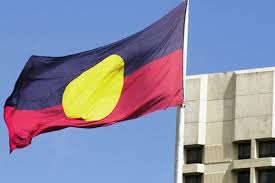 Blue Flag With Yellow Circle Understanding The Aboriginal Australian Flag City Of Adelaide