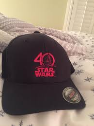 my 40th star wars anniversary hat i received from my uncle starwars