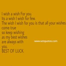 of luck quotes all the best quotes and status messages