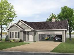 one story garage apartment floor plans one story house plans with garage apartment fresh e story bungalow