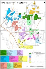 Map Of Dallas Neighborhoods by Neighborhood Map With Nac Assignments City Of Carrollton Tx