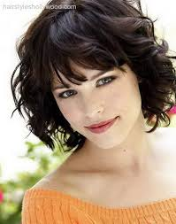 hairstyles for short curly layered hair at the awkward stage 25 beautiful short haircuts for round faces curly short short