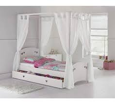 4 Poster Bed Frames Buy Collection Single 4 Poster Bed Frame White At Argos Co