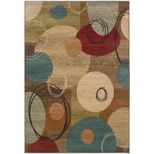 Galaxy Rug Home Decorators Collection Amelia Medallion Green 7 Ft 10 In X
