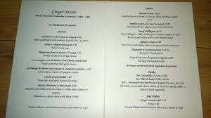 table d hote menu table d hôte menu picture of ginger bistro liverpool tripadvisor