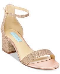 Wedding Shoes Macys Blue By Betsey Johnson Miri Evening Sandals Created For Macy U0027s