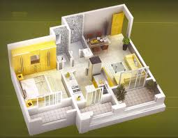 One Bedroom HouseApartment Plans - One bedroom designs