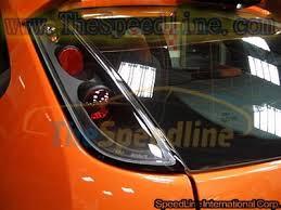 ford focus tail light bulb 04 10 ford focus mk2 black lexus style tail light thespeedline