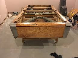 How Much To Refelt A Pool Table by Should I Restore This Fischer Pool Table