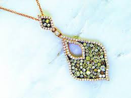 color diamond necklace images Fancy color diamond pendant ll pavorsky jpg