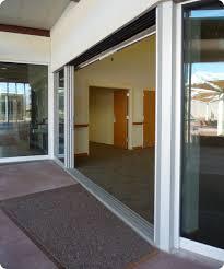 Panel Track Blinds For Sliding Glass Doors Commercial Sliding Glass Doors Multi Track And Dual Track