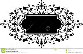 element for design flowers ornament vector stock vector image