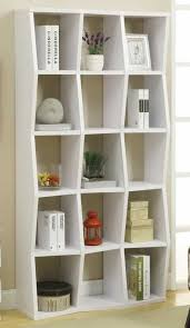 Bookcase With Doors White Bookcases Ideas Affordable Modern White Bookcase Modern