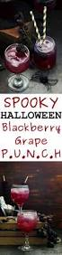 halloween blackberry grape punch