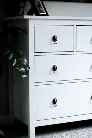 ikea kitchen cupboard knobs ikea hemnes dresser hack practical and pretty