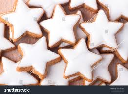 traditional christmas cookies cinnamon star form stock photo