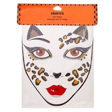 leopard face tattoos claire u0027s