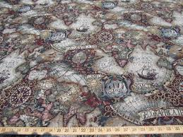 World Map Fabric by Image Gallery Old World Map Fabric