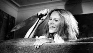 image of the day jamie lee curtis sports michael myers u0027 halloween