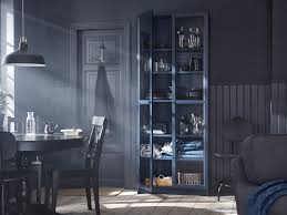 book case with glass doors billy bookcase collection ikea