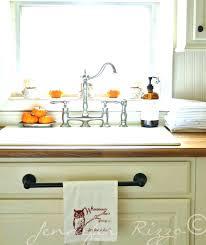 over cabinet door towel bar in cabinet towel rack over cabinet towel bar cabinet door mount