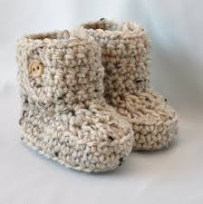 adorable crochet booties for baby for winter trendy mods