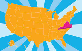 us map states virginia virginia pictures and facts