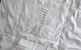 wedding dress quilt wedding dress quilt the patchwork