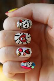 day of the dead nails nevertoomuchglitter nail wonderland