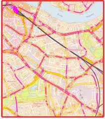 London Bus Map Complete Public Transport U0026 London Bus Route Map Of Earl U0027s Court