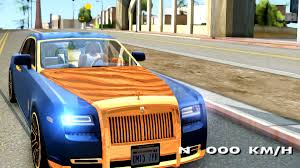 roll royce gta rolls royce ghost mansory v2 gta san andreas youtube