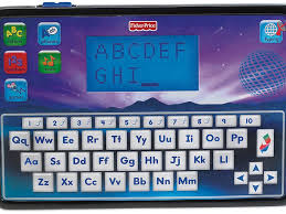 amazon com fisher price bilingual learning smart tablet toys