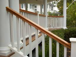 Mahogany Banister Intex Railings Phoenix Manufacturing Inc