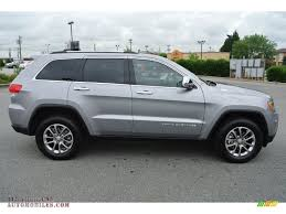 jeep cherokee silver 2014 jeep grand cherokee limited in billet silver metallic photo