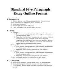 essay format university level writing and essay outline the writing center