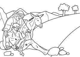 story good samaritan coloring netart