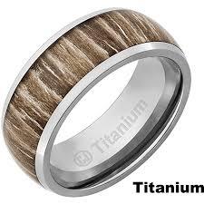 black titanium wedding bands the mountain titanium or tungsten w zebra wood ring manly