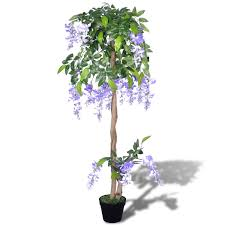 wisteria home decor snew artificial wisteria with pot 120 cm fake plant arrangement